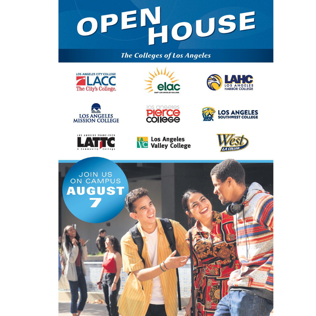 Welcome Back Open House: August 7