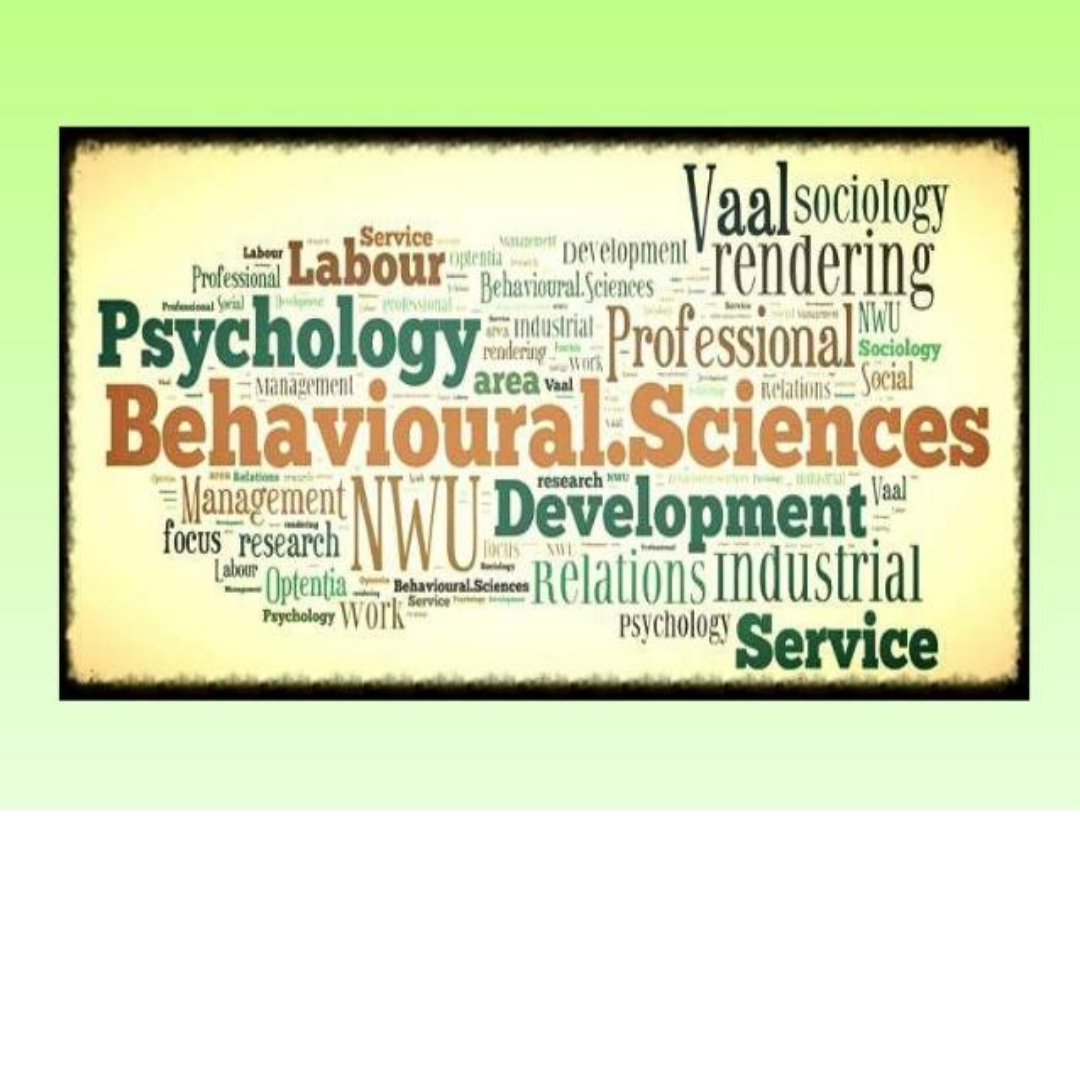 Behavioral and Social Sciences Page
