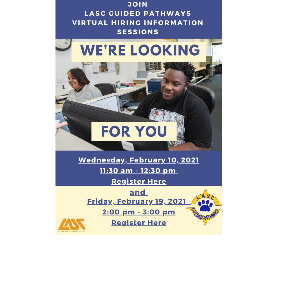 Guided Pathways Hiring